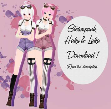 .: Steampunk Haku and Luka :. DOWNLOAD by Lexasio