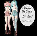 .: Steampunk Teto and Miku DOWNLOAD :.
