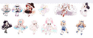 [ CLOSED ] Cuties* AUCTION