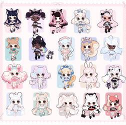 [CLOSED ]Multi Outfit Cuties