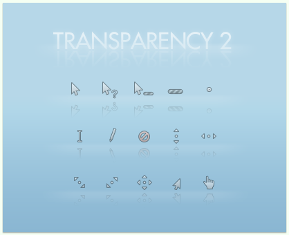 Transparency Cursors 2 by gorganzola1