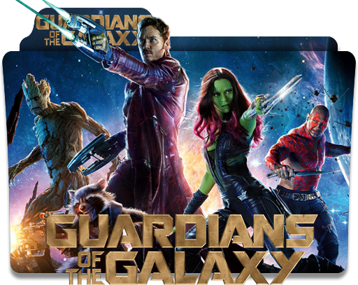 Guardians Of The Galaxy Folder Icon By Jesusofsuburbiatr On Deviantart