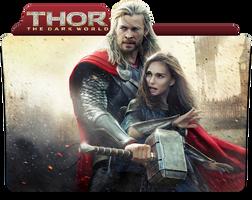 Thor The Dark World Folder Icon by jesusofsuburbiaTR