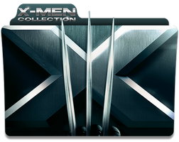 X-Men Collection Folder Icon by jesusofsuburbiaTR