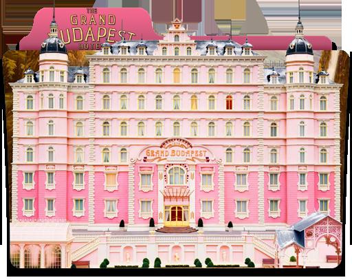 Grand Budapest Hotel Wallpaper: The Grand Budapest Hotel Folder Icon By JesusofsuburbiaTR
