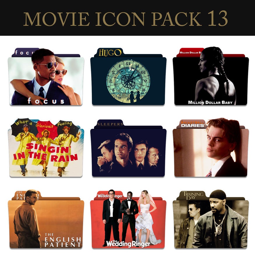 Movie Icon Pack 13 by jesusofsuburbiaTR
