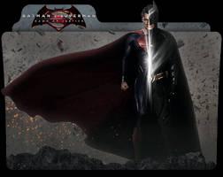 Batman v Superman: Dawn of Justice Folder Icon by jesusofsuburbiaTR