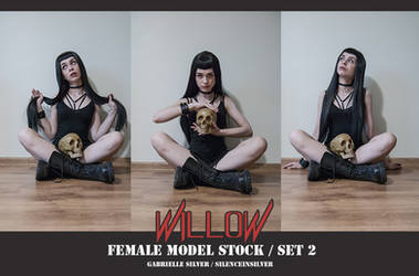 WILLOW - Model Stock Pack - 2 by SilenceInSilver