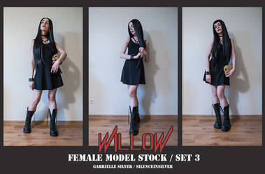 WILLOW - Model Stock Pack - 3 by SilenceInSilver