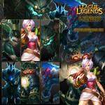 6 League of Legends renders