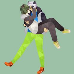 [G] fanjo0 / pandaepan - Dos lindos osos
