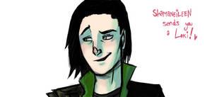 Loki Drawing Process Thingy