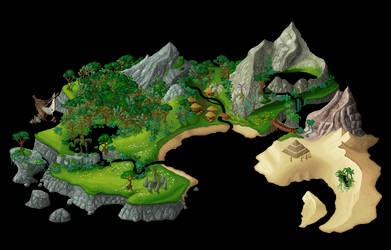 Island [gif] by BelaMuca