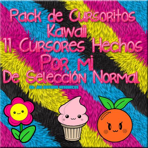Pack De Cursoritos Kawaii by JorEditionsResources