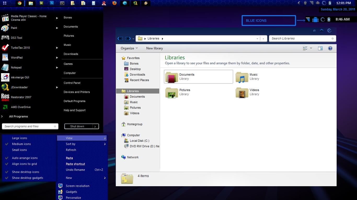 Honeycomb 7 V4 Android Windows by oldblueeyes182