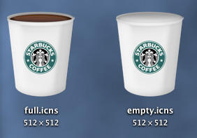 UPDATE 1.1 Starbucks Trash by RedBarchetta14