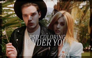 PSD COLORING / UNDER YOU 3# by neaekis