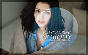 PSD COLORING / NOBODY 4# by neaekis