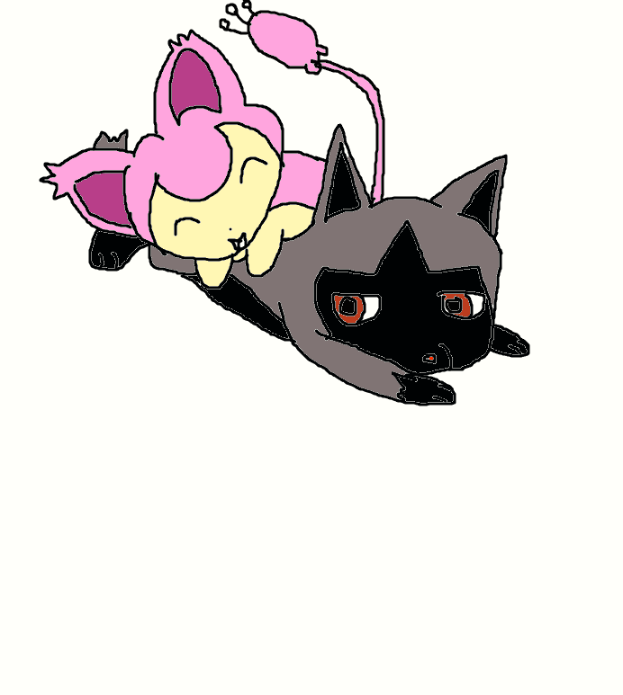 skitty and poochyena by growlithe and vulpix on deviantart