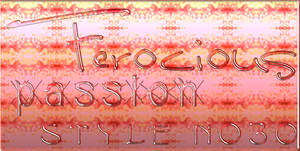 SophyFerociousPassion StyleNo30