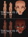(3D)  TDA 01 base\face edit DL