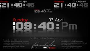 INFO clock (2013-2020)