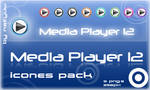 Media Player 12 Icon Pack