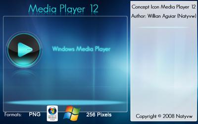 Media Player 12 Icon V2 by Natyvw
