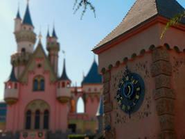 Castle Clock Tower by cokebottleglasses