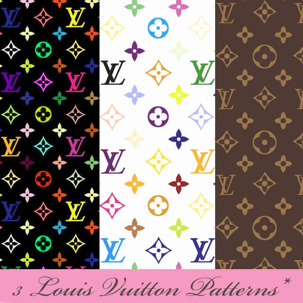 louis vuitton patterns by dariafalcon on deviantart. Black Bedroom Furniture Sets. Home Design Ideas