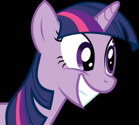Twilight is happy about something by Scotch208