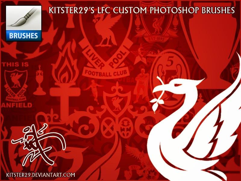 Liverpool FC Custom Brush Set by kitster29