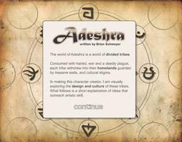 The 9 Adeshran Tribes by cirrusepix