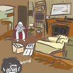 Sherlock is Bored at 221B