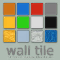 wall tile by vicing