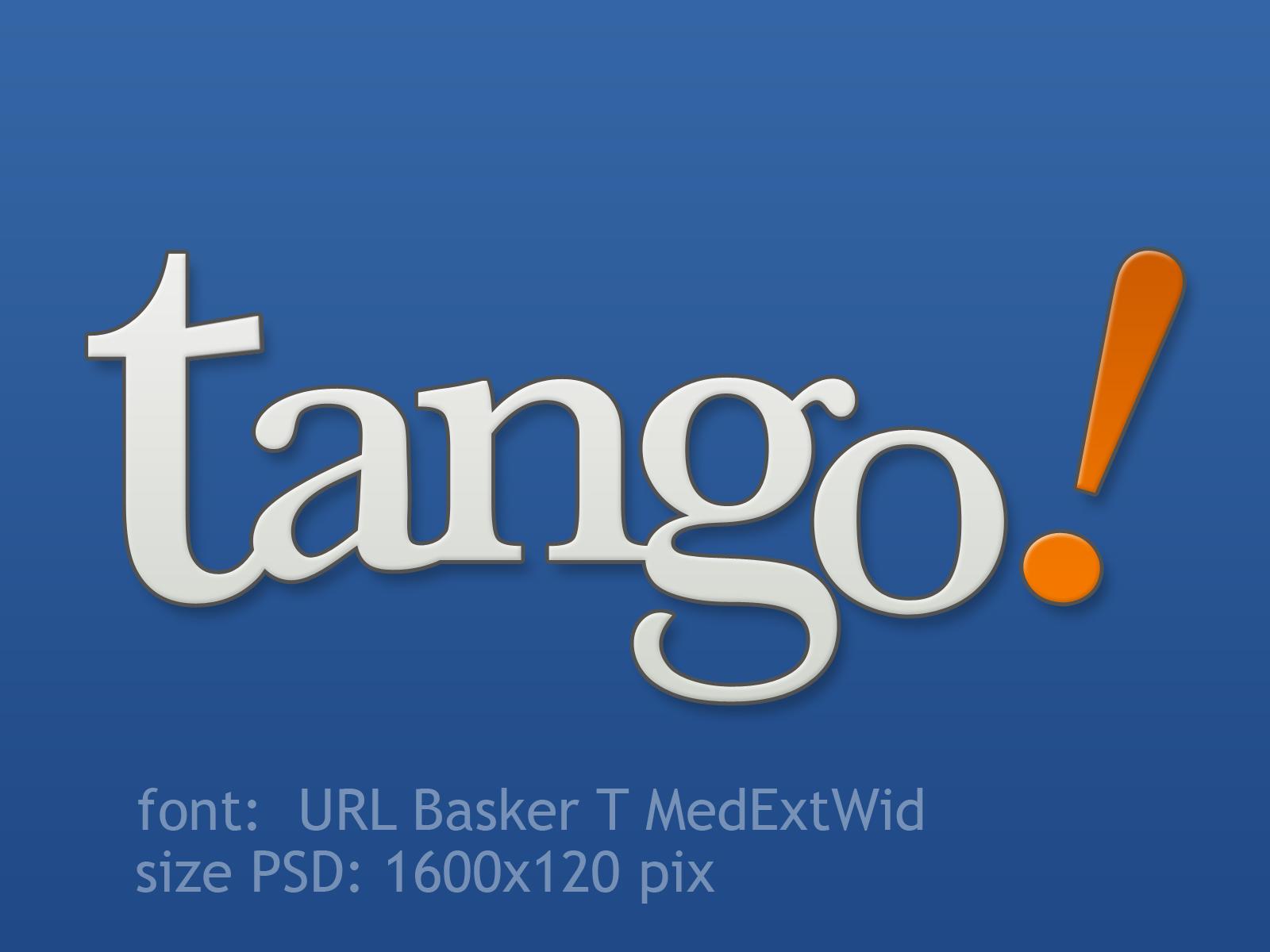 Tango Logo PSD