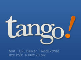 Tango Logo PSD by vicing