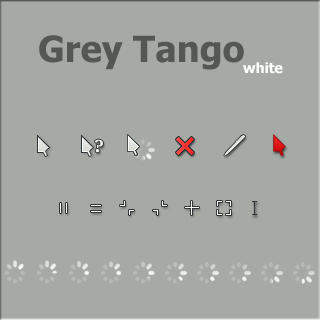 Grey Tango-white by vicing