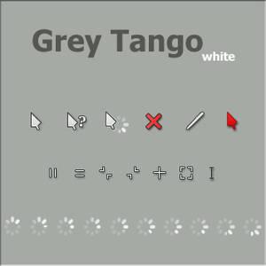 Grey Tango-white