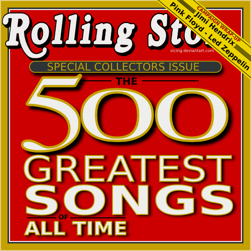 500 Greatest Songs Of All Time (The Rolling Stone Magazine ... Rolling Stones Songs
