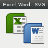 Excel  Word SVG by vicing