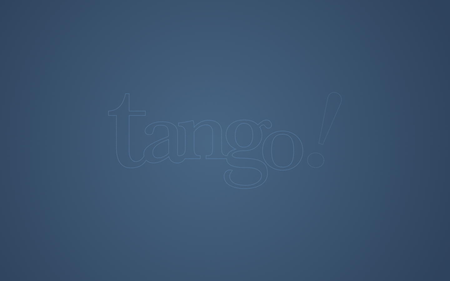 Tango Blue stitch by vicing