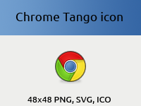 Chrome Tango Icon by vicing