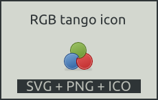 RGB tango icon by vicing