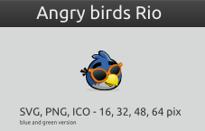 Angry birds Rio by vicing