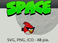 Angry birds SPACE by vicing