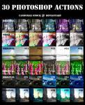 30 photoshop actions