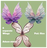Wings 2 by Adaae-stock