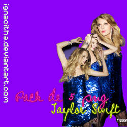 Pack 5 png Taylor Swift by ignacitha