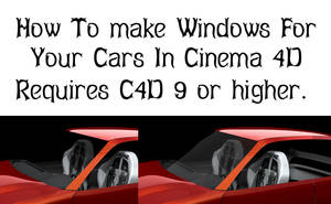 Making Windows For Your Cars by ragingpixels